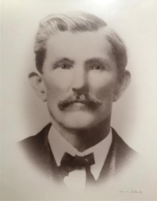 Portrait of JD Wulljen bank president